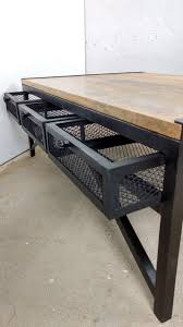 Couchtisch Wohnzimmer Tisch 120 X 80 Cm Mango Massiv Holz Industrial