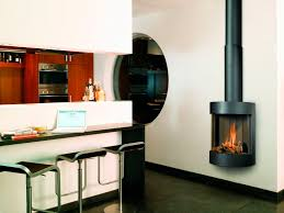 gas fireplace contemporary closed hearth hanging free bell bellfires
