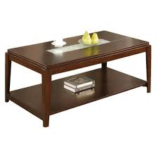 Nailhead Coffee Table Elegant Wood Cocktail And Coffee Table In Cherry Uk 6720 Thippo