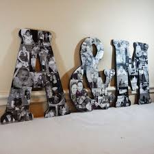 photo collage letters custom photo collage letter photo collage wood letters personal templates