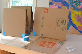 Cardboard Easel Display Stand Gorgeous DIY Cardboard Easel ARTBAR