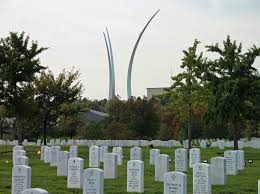 Image result for arlington national cemetery air force funeral