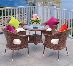 china outdoor garden pe rattan wicker round dining table and chairs set z357 china garden furniture sets outdoor furniture sets