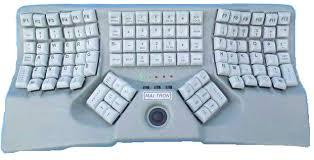 ball keyboard. maltron f-type keyboard layout ball d