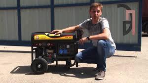<b>Бензиновый сварочный генератор</b> FORTE FG6500EW - YouTube