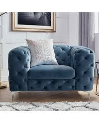 kogan furniture. Simple Furniture Kogan Tufted Chesterfield Chair Upholstery French Blue For Furniture O