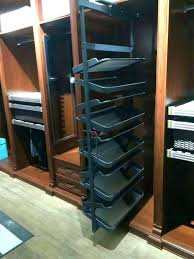revolving closet organizer diy shoe rack rotating head over heels by the