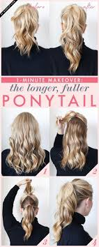 Quick Cute Ponytail Hairstyles 25 Best Ideas About Short Ponytail Hairstyles On Pinterest