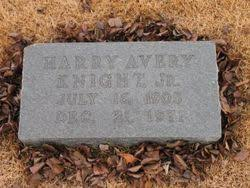Harry Avery Knight JR. (1905-1971) - Find A Grave Memorial