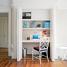 home office magazine. Closet Home Office. Image Via Sunset Magazine Office M L