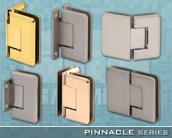 pinnacle series frameless shower door