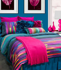 amazing neon teen bedding bedroom colorful comforter gold polka dot bright plain white teenage clothes