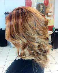 Hair Coloring Ginger Blonde With Copper