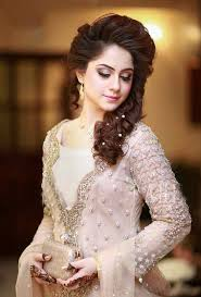 latest bridal enement makeup makeup with off white dress