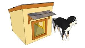 insulated dog house plans small dog house plans large dog house plans