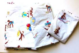 curious george bed set pottery barn kids curious toddler bed crib sheet set curious george toddler
