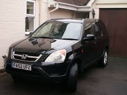 Honda CRV Executive Black 2003 (52 plate) automatic, 2 owners   in ...