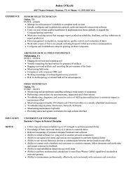 Field Technician Resume Samples Velvet Jobs