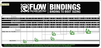 Burton Grom Bindings Size Chart 67 Correct Flow Boots Size Chart