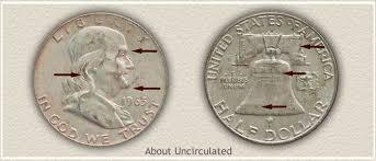 1959 Franklin Half Dollar Value Chart 1959 Franklin Half Dollar Value Discover Their Worth