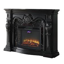 full image for universal electric fireplace remote control flame black wood metal fan forced whalen replacement