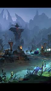 download wallpaper 1080x1920 dota 2 middle battle map heroes