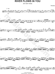 Arranged by david sides for rookie level pianists. Yiruma River Flows In You Viola Sheet Music In A Major Download Print Sku Mn0146180