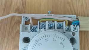 Подключение терморегулятора <b>термостата</b> для инфракрасного ...