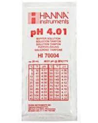 Hanna Instruments Ph 4 01 Buffer Solution 20ml