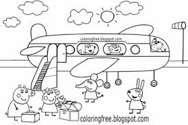 Coloring Pages Peppa Pig The Art Jinni