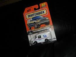 postal llv parts accessories matchbox 97 llv usps united states postal service delivery mint truck nm pack