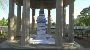 Image result for andrew jackson's monument defaced