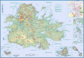 large antigua island maps for free download and print  high