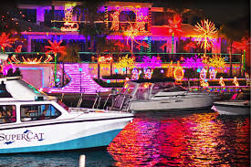 Mandurah Christmas Lights Boat Hire Christmas Lights Cruises Perth