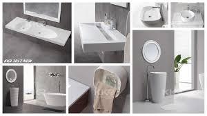 comparison of solid surface bathroom sinks ceramic bathroom basins