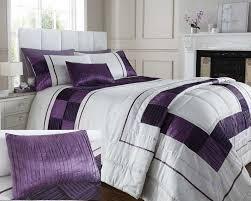 full image for enchanting purple duvet cover double 130 mei duvet cover set purple double image