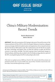 Chinas Military Modernisation Recent Trends Orf
