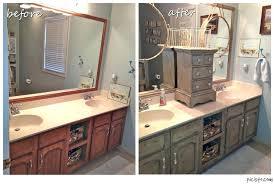painting bathroom cabinets ideas bathroom vanity makeover with chalk paint painting bathroom cabinets color ideas