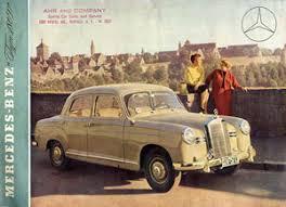 Old Brochures Mercedes Benz Ponton Sales Brochures And Pamphlets Www Mbzponton Org