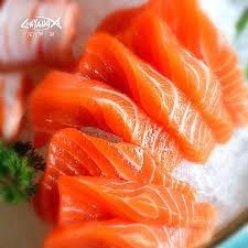 get ations snowy longyangxia gift 1050g salmon fresh salmon sashimi jingrou middle smoked salmon