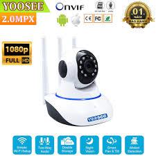 Camera Giám Sát IP Yoosee 3 Râu ---Camera wifi quay quét 360 độ, Giá siêu  rẻ, bền, đẹp