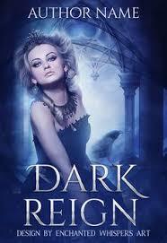 dark queen premade book cover design
