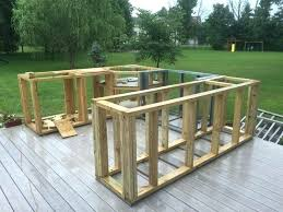 homemade outdoor bar ideas this guy decided to build a kitchen in his backyard that turned homemade outdoor bar ideas