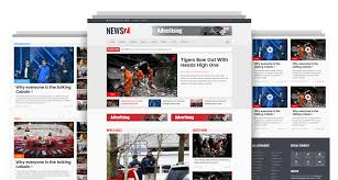 Newspaper Html Template Newsz News Magazine Html Template Codeboxr