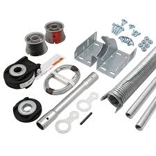 ez set torsion conversion kit for 9 ft x 7 ft garage doors 109 lbs 133 lbs