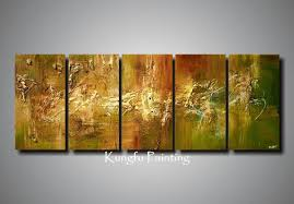 100 hand painted unframed abstract 5 panel canvas art living room wall decor painting modern sets com5530 5 panel canvas art 5 panel 5 canvas art online  on hand painted canvas wall art uk with 100 hand painted unframed abstract 5 panel canvas art living room