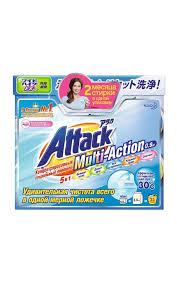 <b>Стиральный порошок ATTACK</b> Multi-action <b>концентрированный</b> с ...