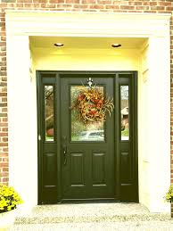 entryway doors for fiberglass entry doors fiberglass entry doors with sidelights s modern black front door with glass wreath door decor porch