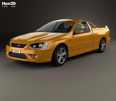 Ford Falcon Ute XR8 2006 3D model - Hum3D