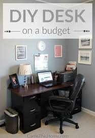 desk in office. build this fully customizable desk to fit your needs and budget itu0027s the perfect weekend in office
